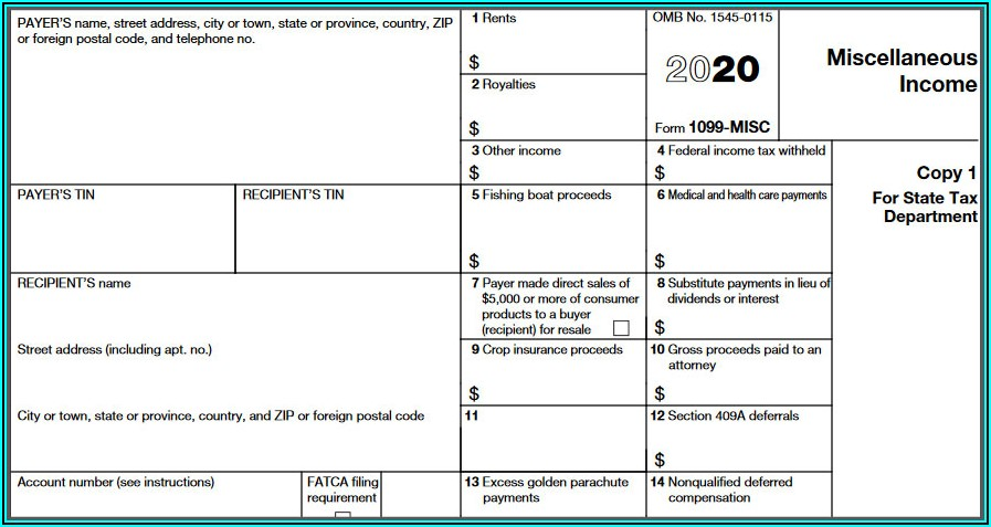 Can 1099 Forms Be Downloaded