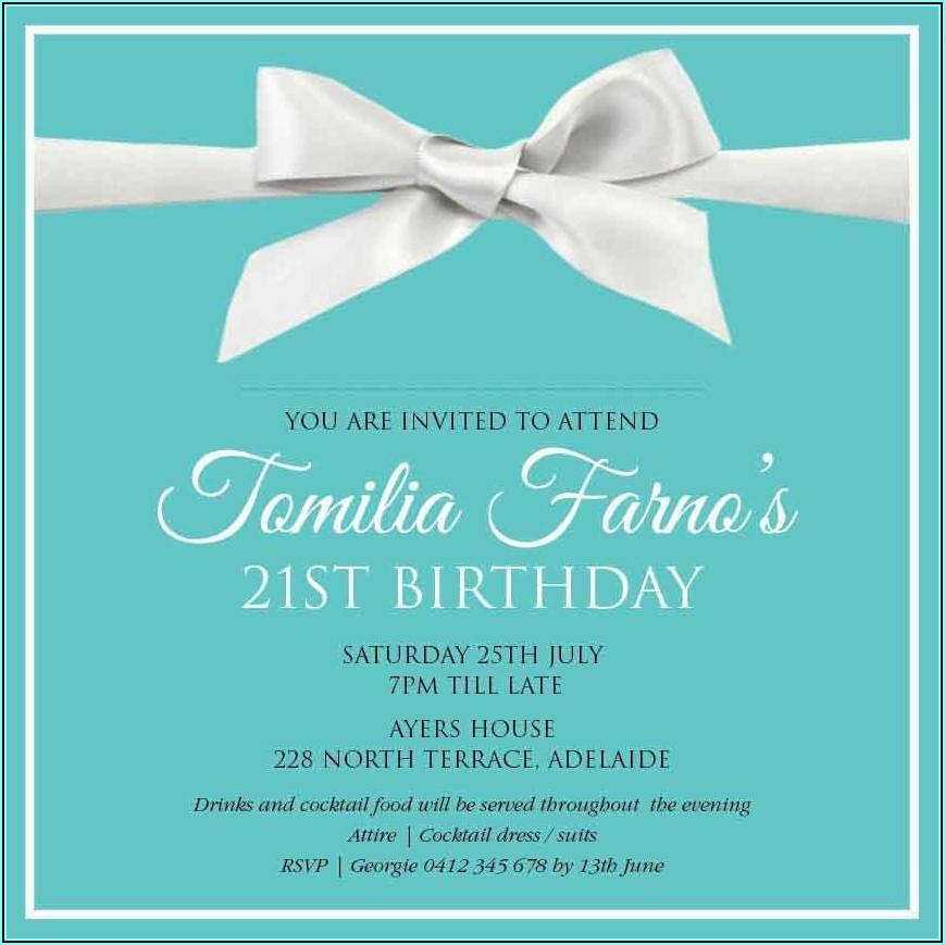 Cheap Birthday Invitations Australia