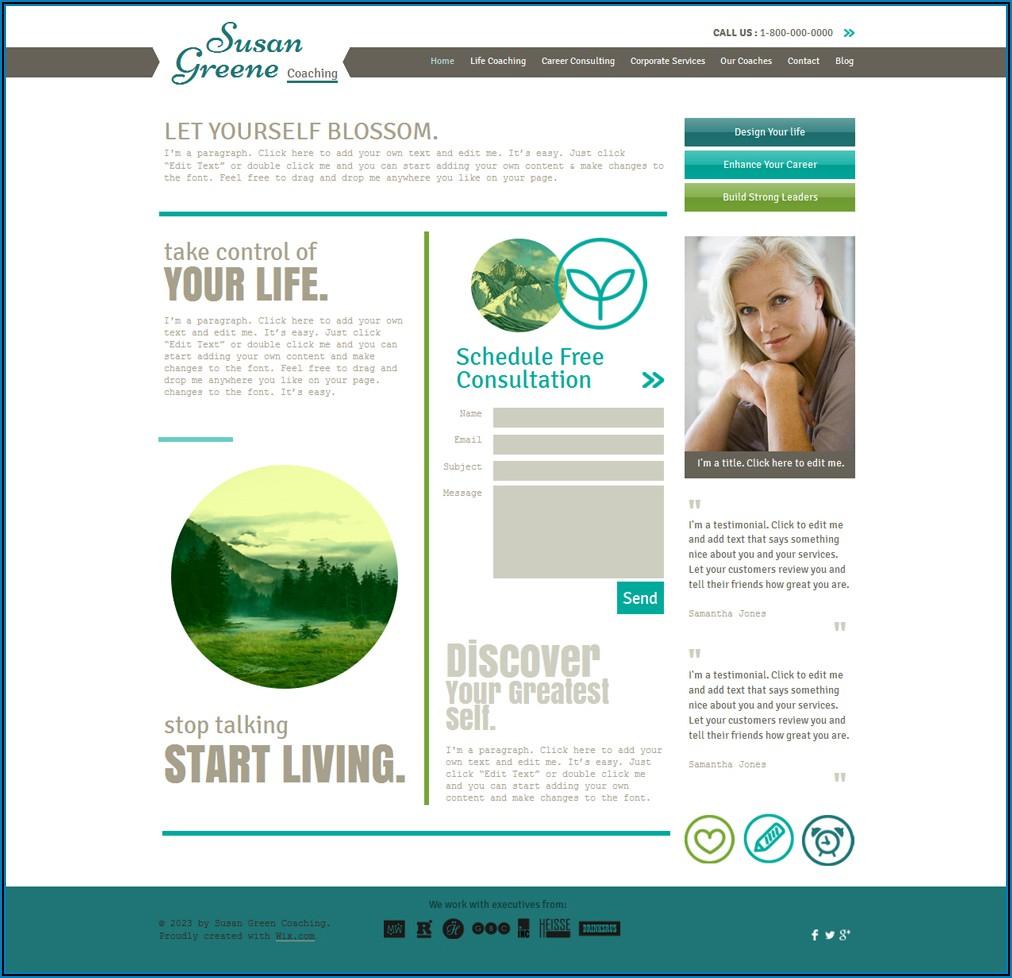Coaching Website Templates