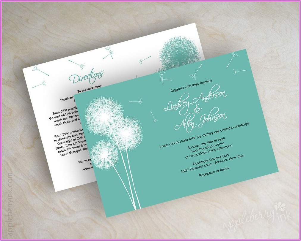 Country Affordable Wedding Invitations
