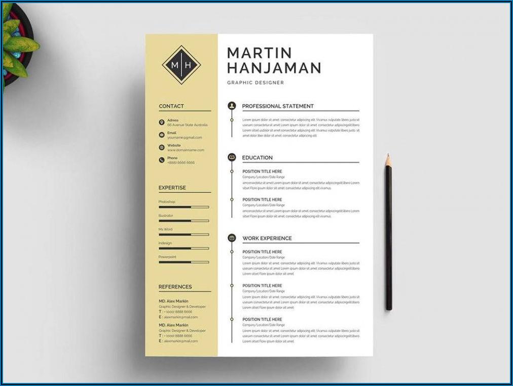 Creative Curriculum Vitae Template Word Free Download