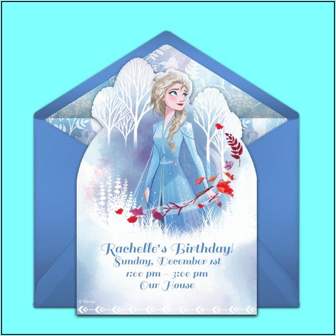 Disney Frozen Birthday Party Invitations Online