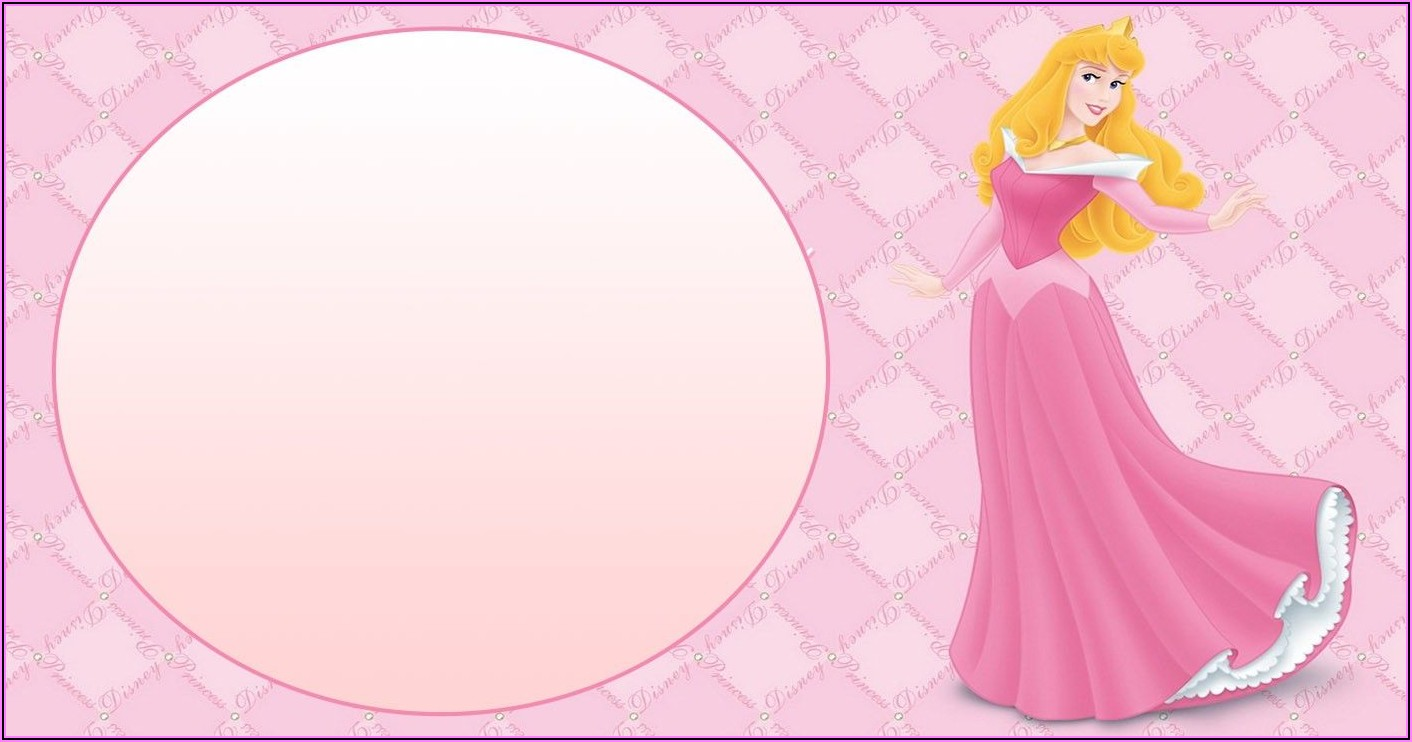 Disney Princess Birthday Invitations Online