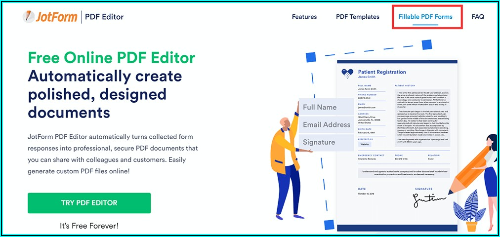 Easy Pdf Form Creator