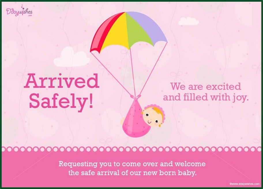 Ecard Baby Announcement Free