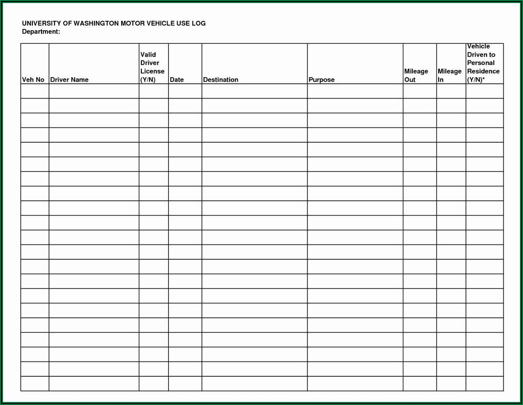 Fire Extinguisher Monthly Inspection Form