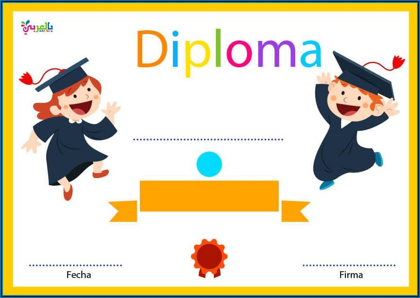 Free Graduation Diploma Template
