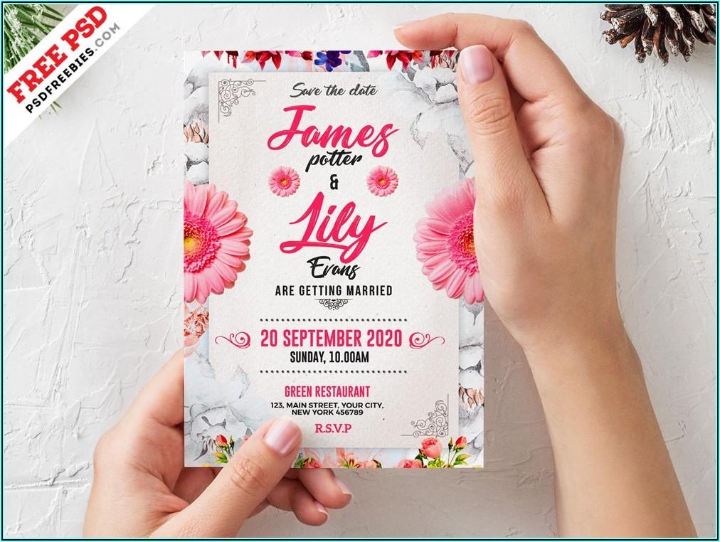 Free Wedding Invitation Templates For Word Muslim