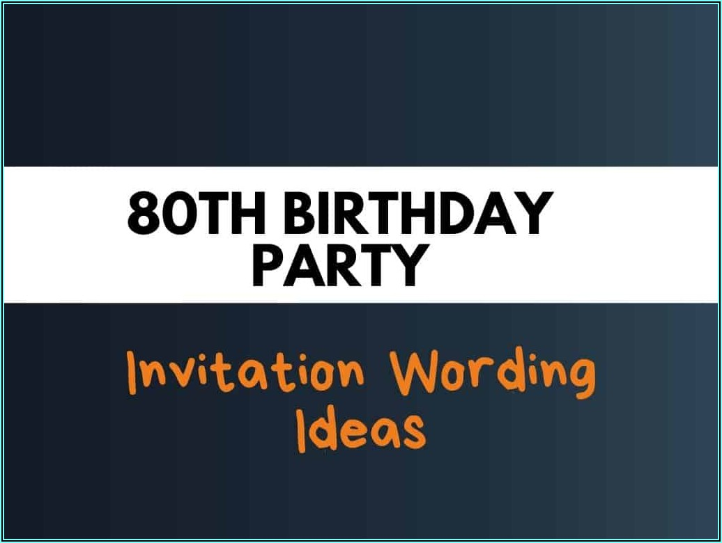 Funny Birthday Invitation Message For Friends