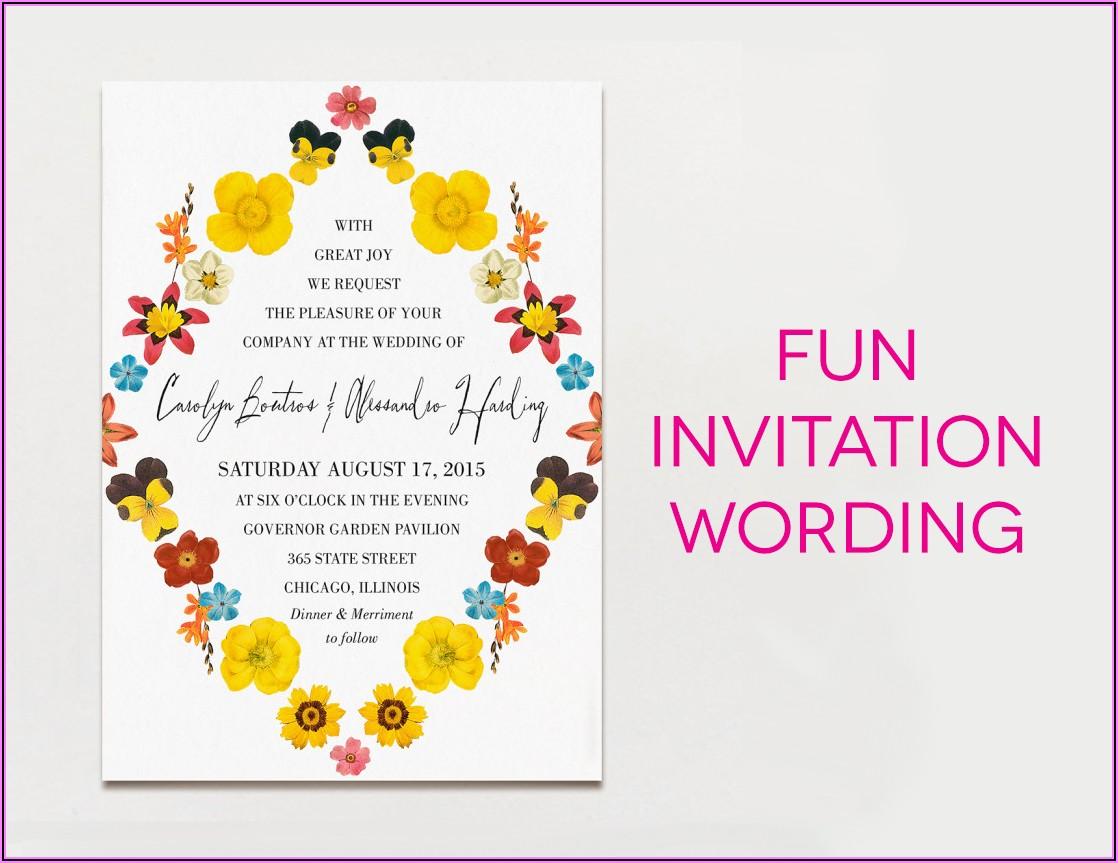 Funny Retirement Invitation Wording