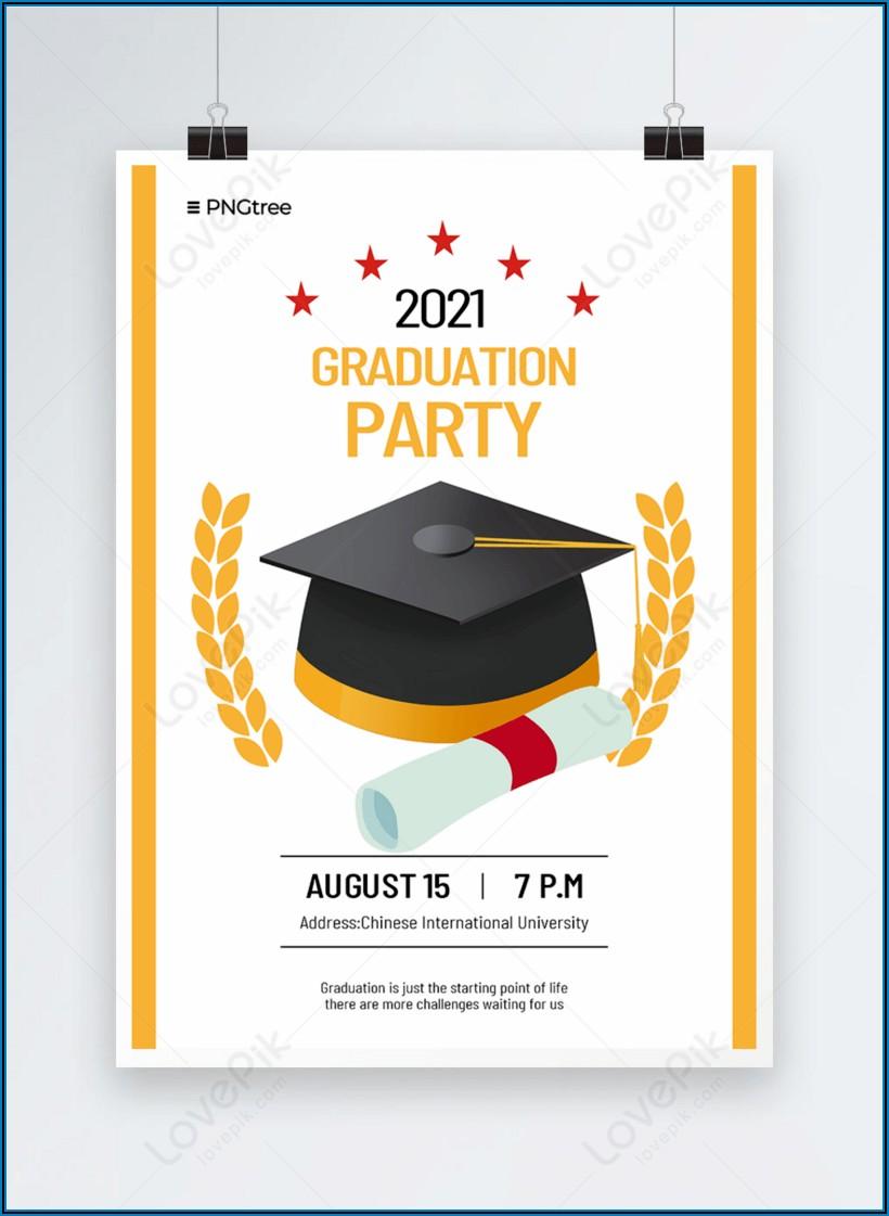 Graduation Invitation Template Download