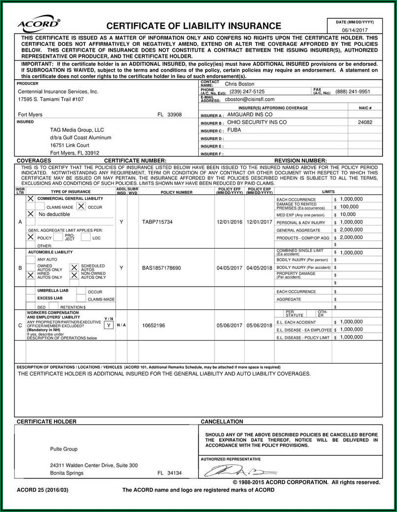 Indiana Workers Compensation Exclusion Form