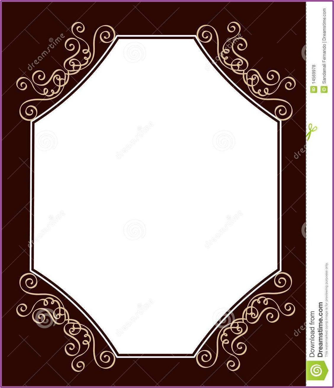 Invitation Card Template Free Download Word