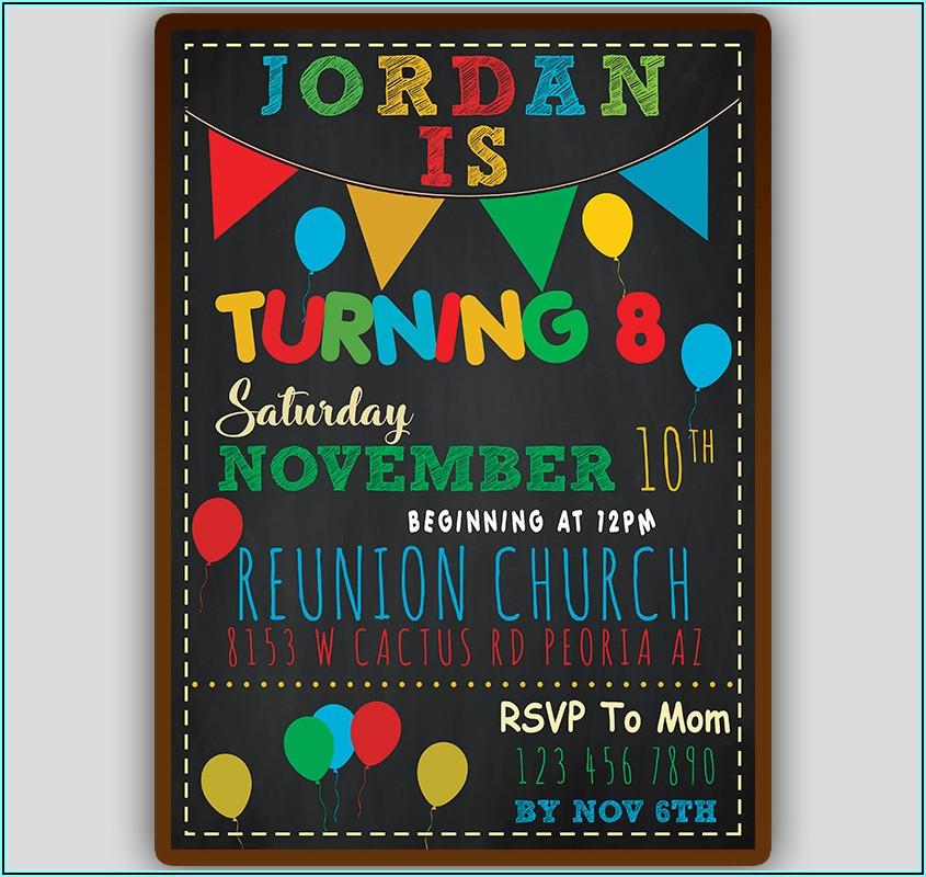 Kid Birthday Invitations Templates