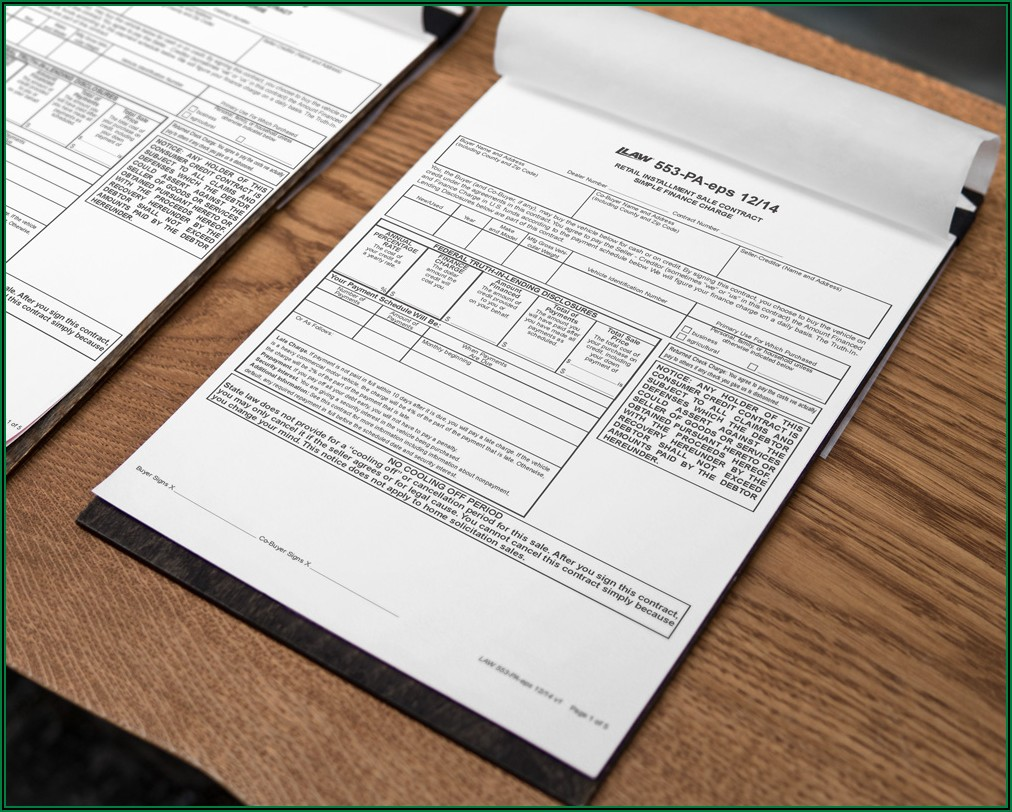 Law Printing Dealer Forms