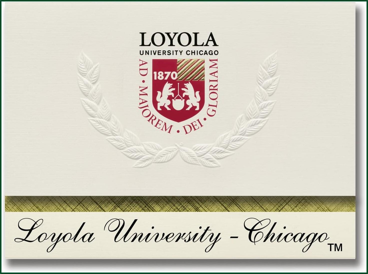 Loyola University Chicago Graduation Announcements