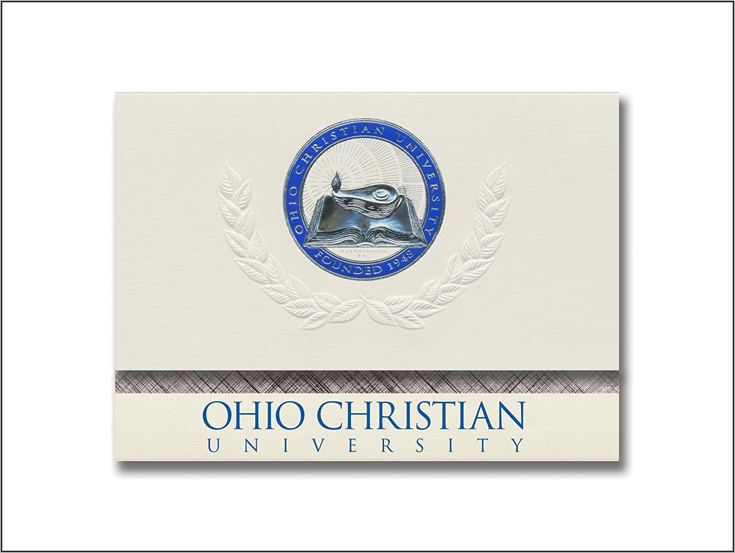 Ohio University Graduation Announcements