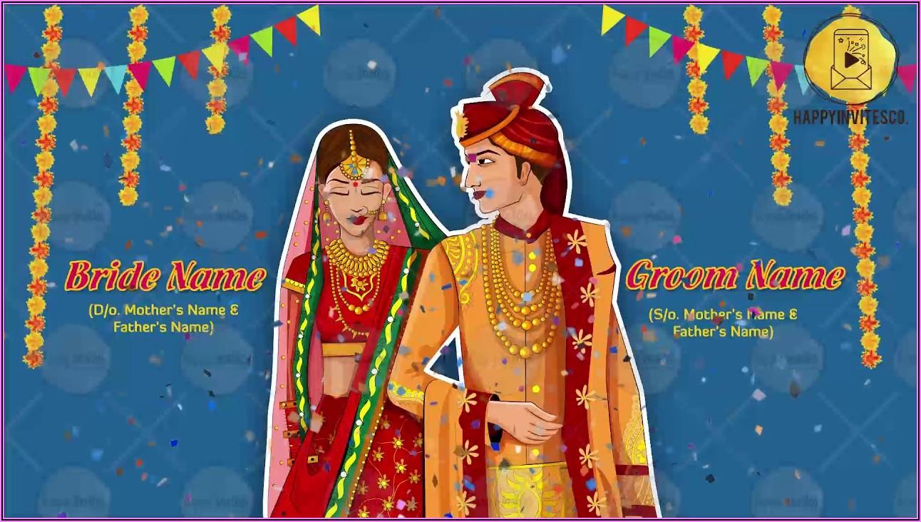 Online Wedding Invitation Video Templates