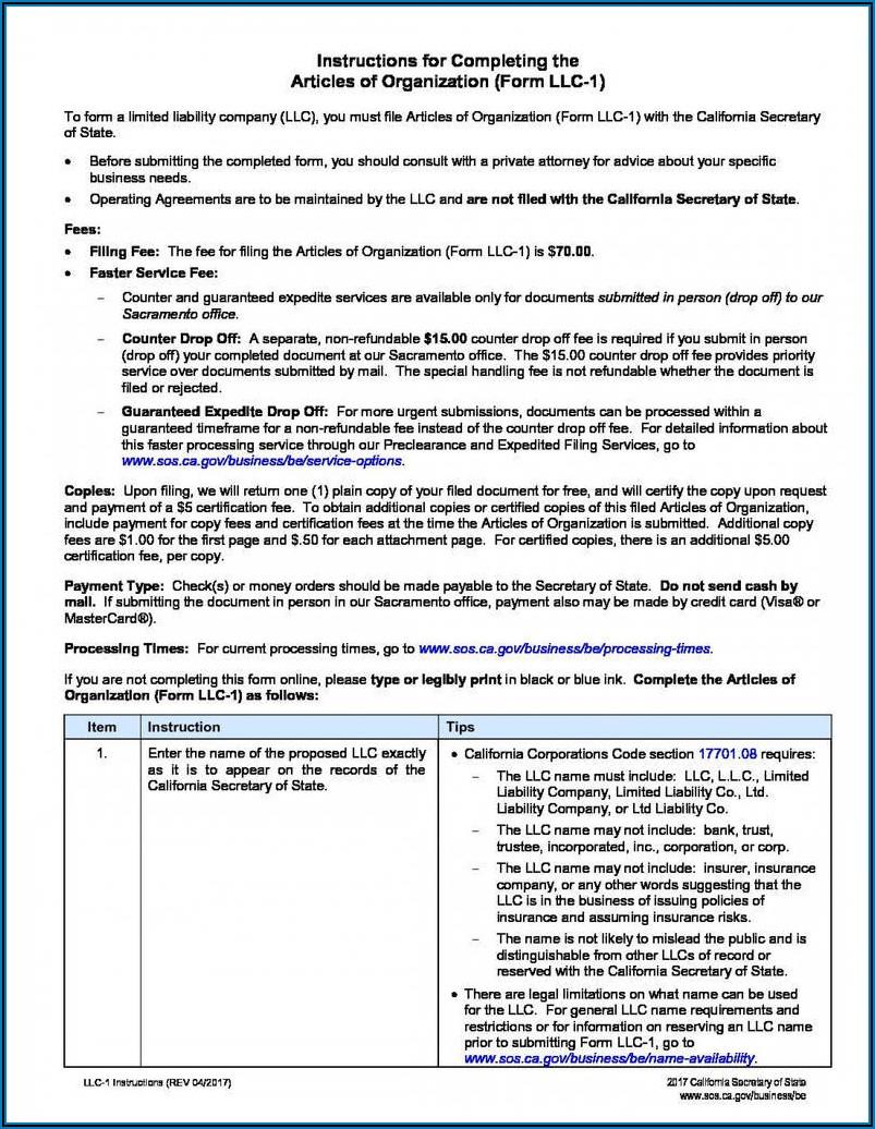 Operating Agreement Llc Virginia Template