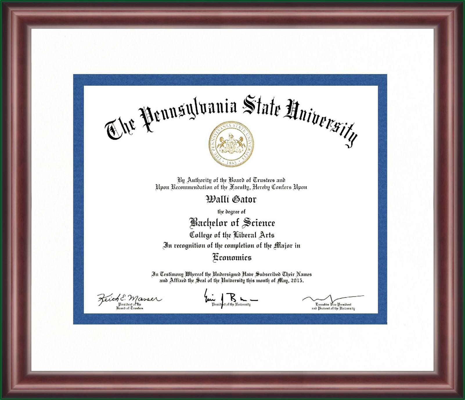 Penn State Graduation Announcements
