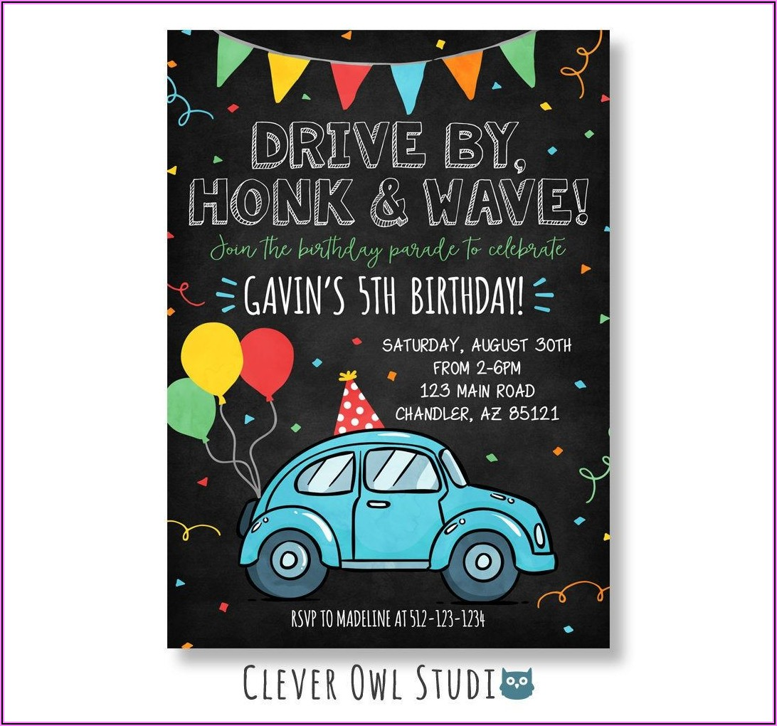 Personalized Birthday Invitations With Pictures
