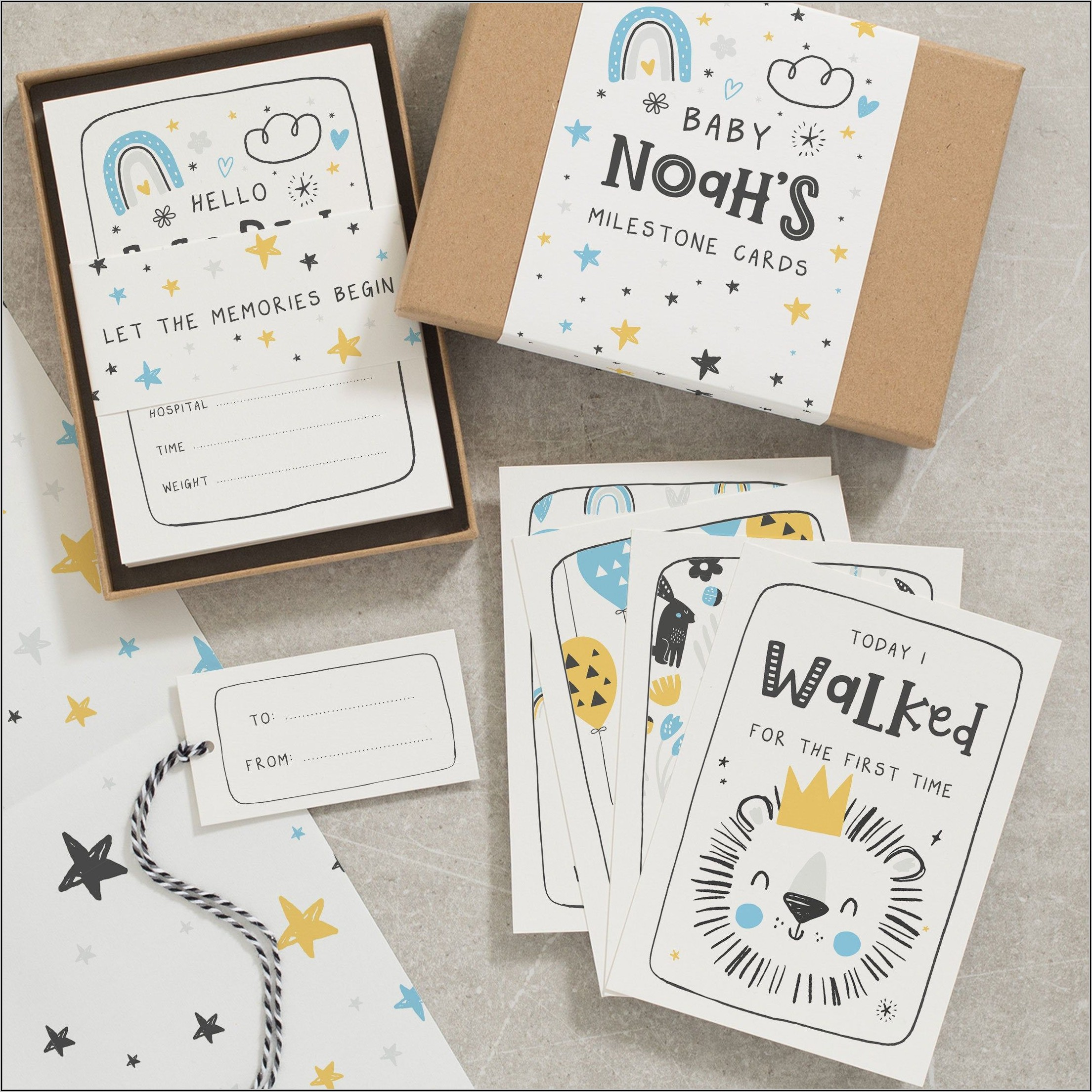 Pregnancy Announcement Playing Cards