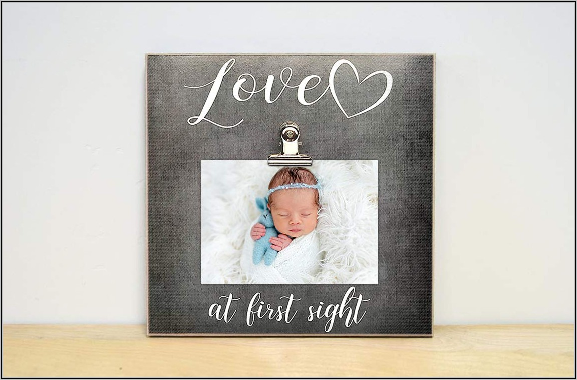 Pregnancy Reveal Picture Frames