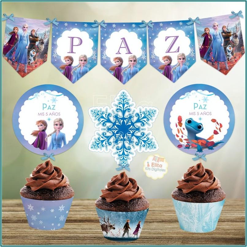Printable Frozen 2 Birthday Invitations