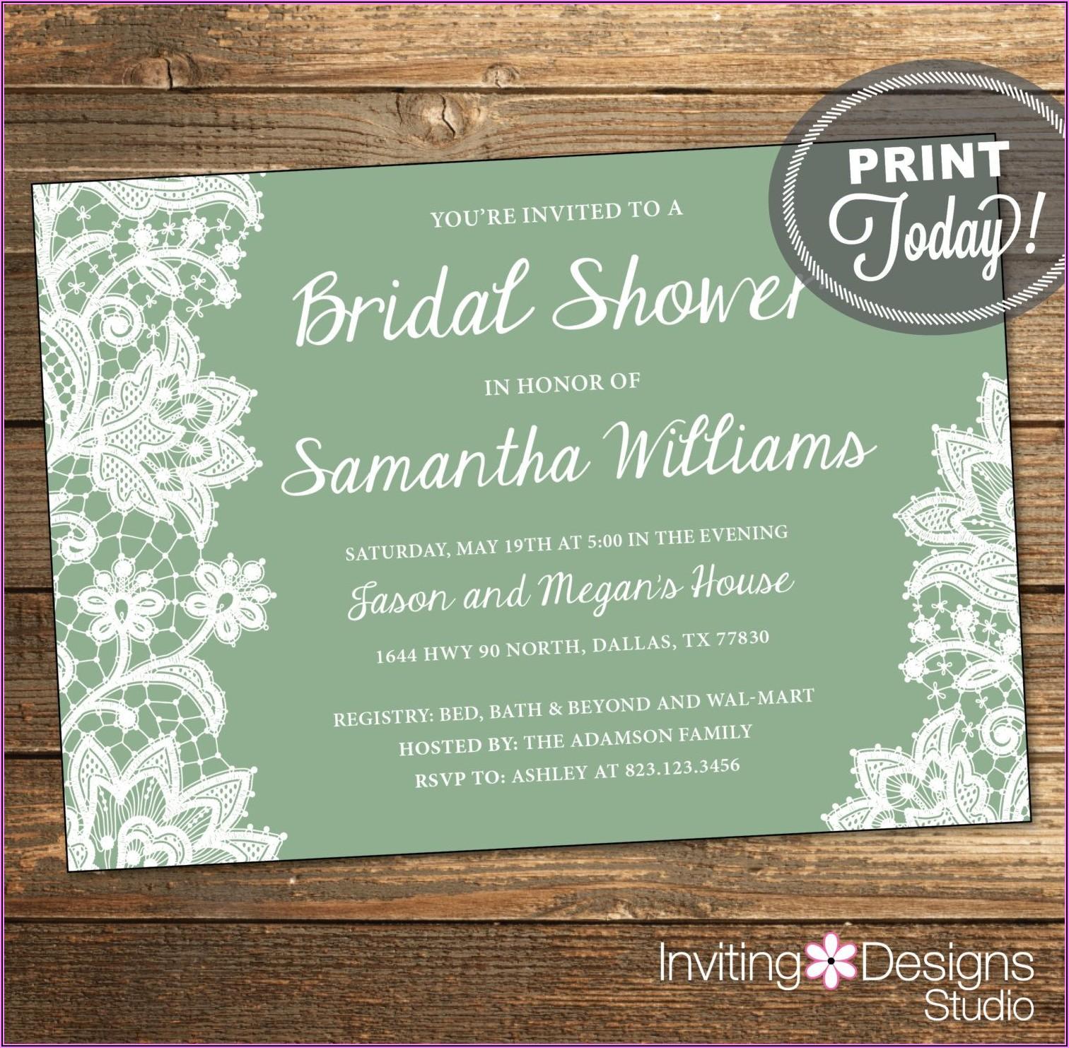 Printing Wedding Invitations At Walmart