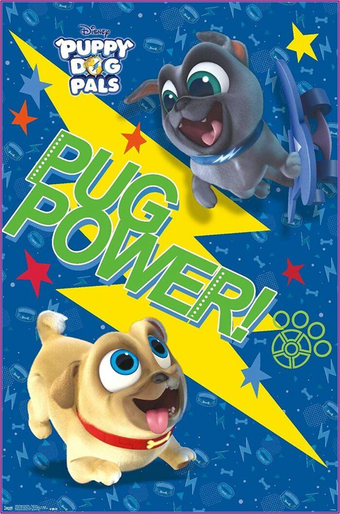 Puppy Dog Pals Invitations Blank
