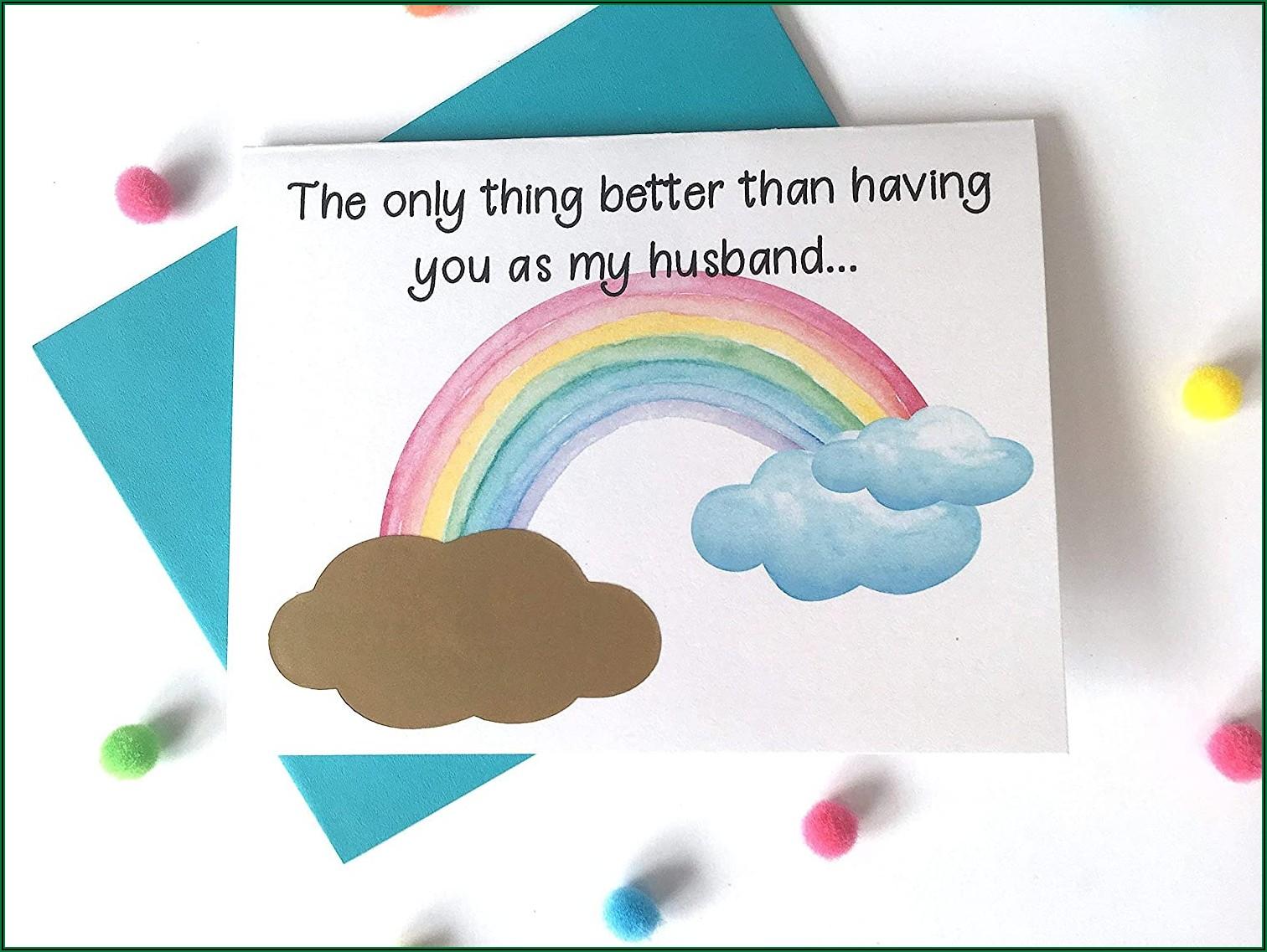 Rainbow Baby Announcement Poem
