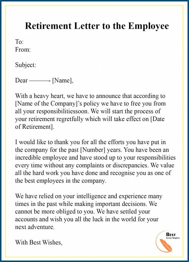 Retirement Party Announcement Samples