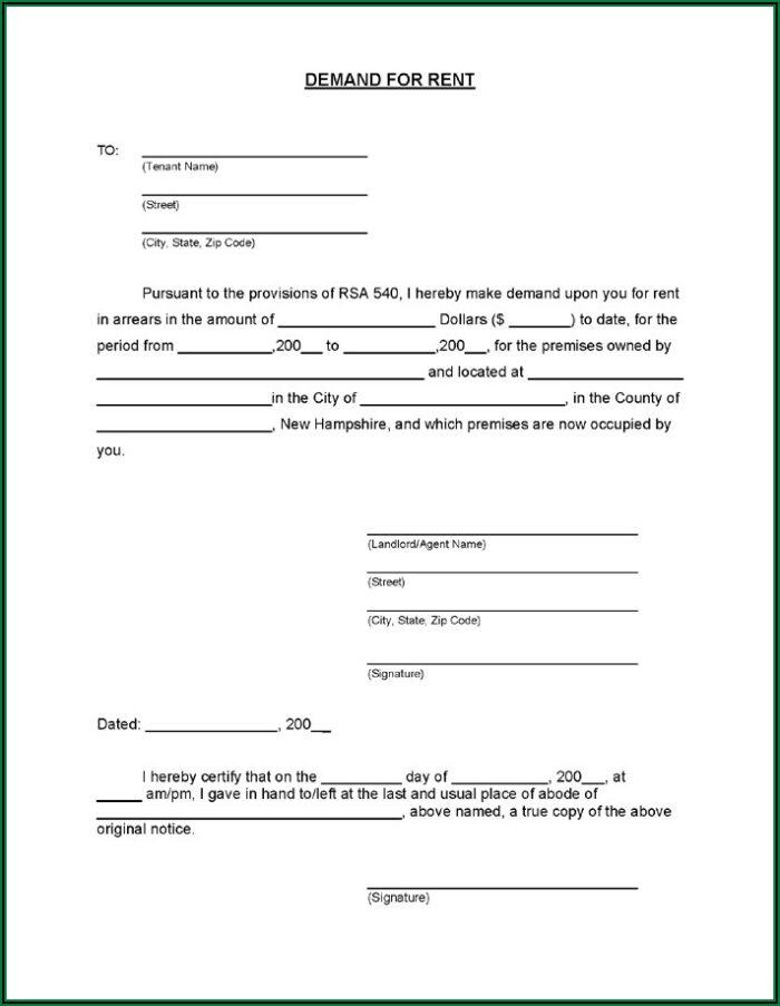 Room Rental Agreement Form Free Alberta