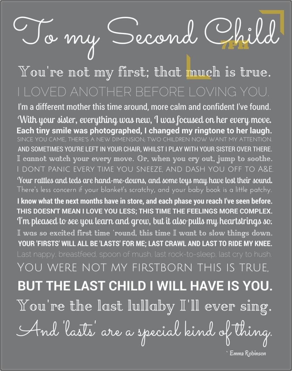 Second Child Announcement Quotes