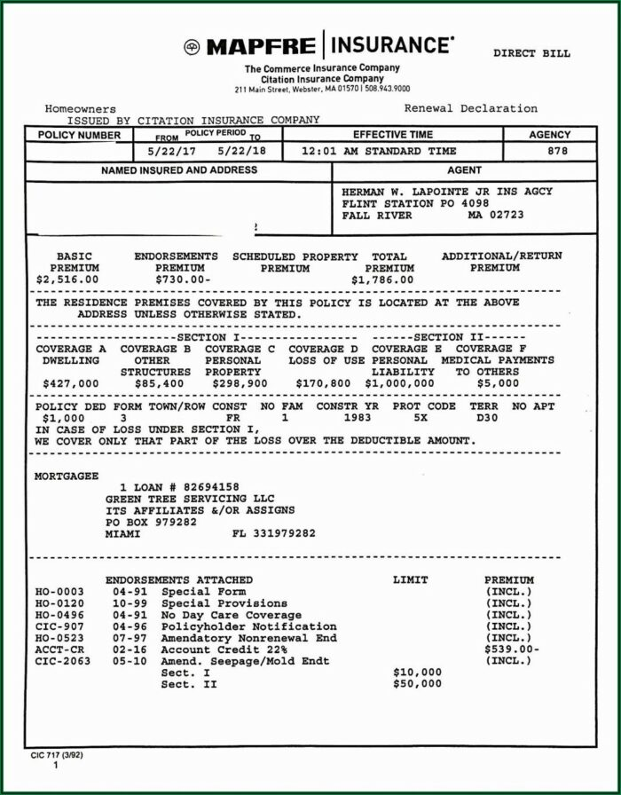 Sr22 Insurance Form