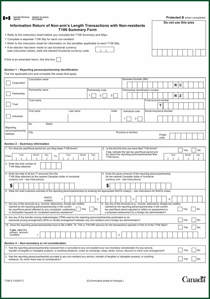 T4 Fillable Forms 2020