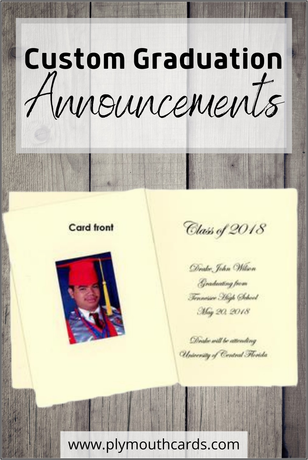 Tissue Paper Inserts For Graduation Announcements