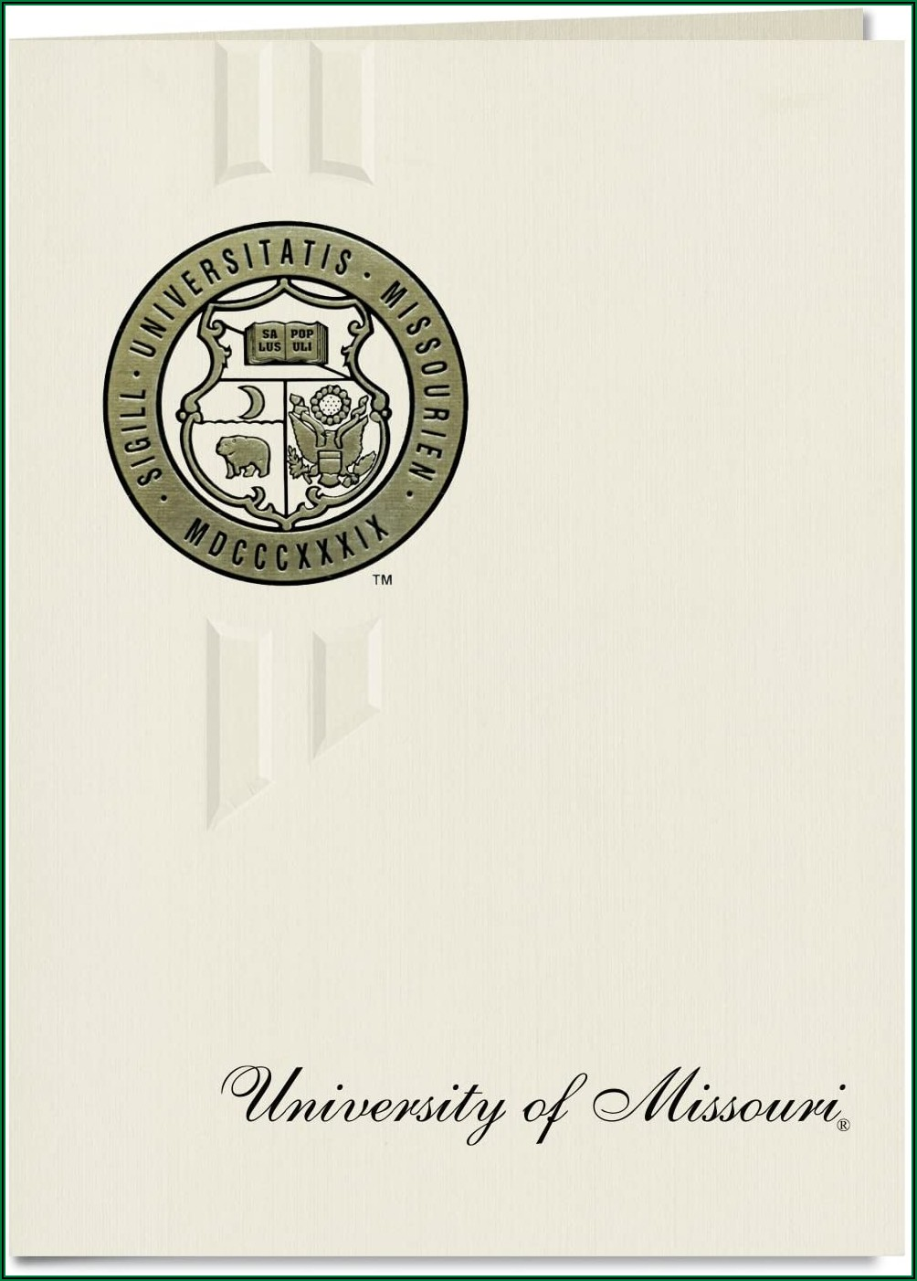 University Of Missouri Columbia Graduation Announcements