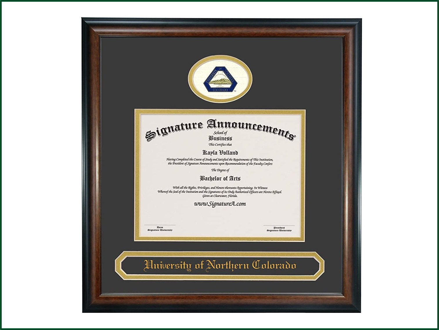 University Of Northern Colorado Graduation Announcements