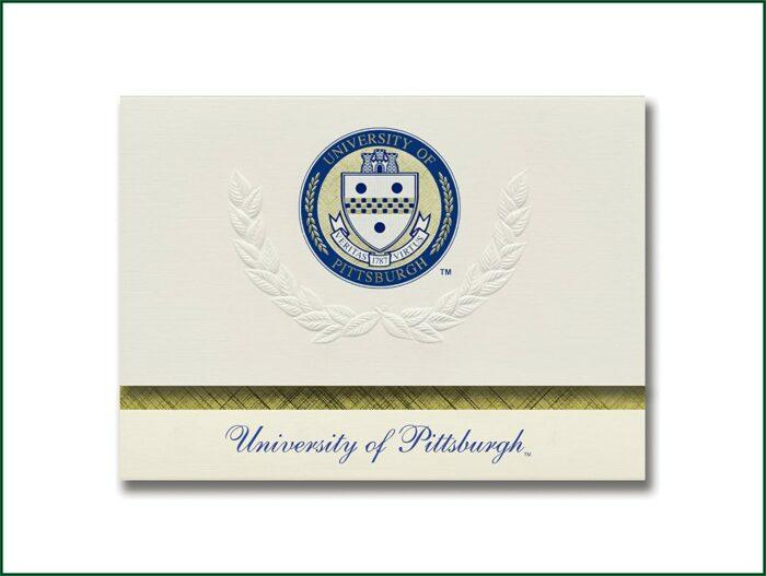 University Of Pittsburgh Graduation Announcements