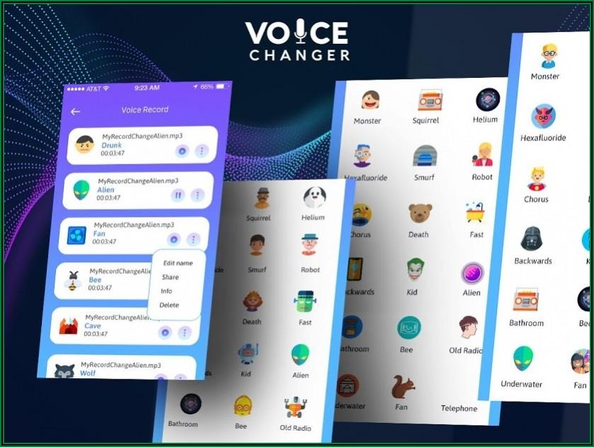 Voice Changer Radio Announcer