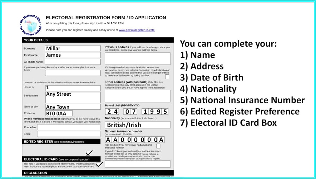 Voters Id Card Online Application Form Philippines