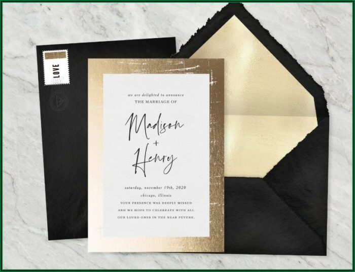 Wedding Announcement Wording For Uninvited Guests Covid