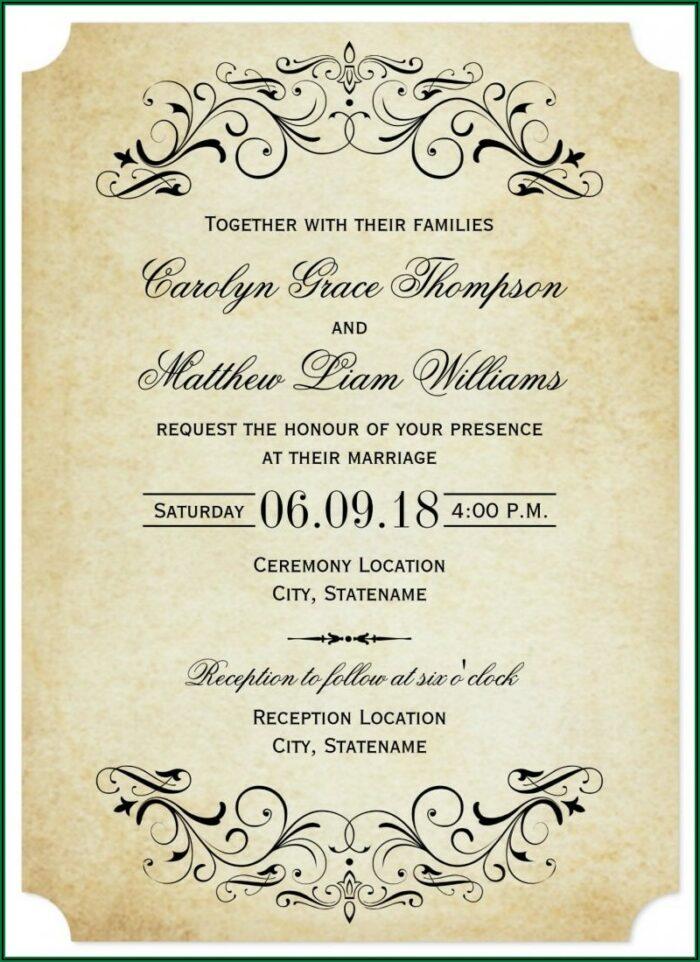 Wedding Announcement Wording Newspaper Examples