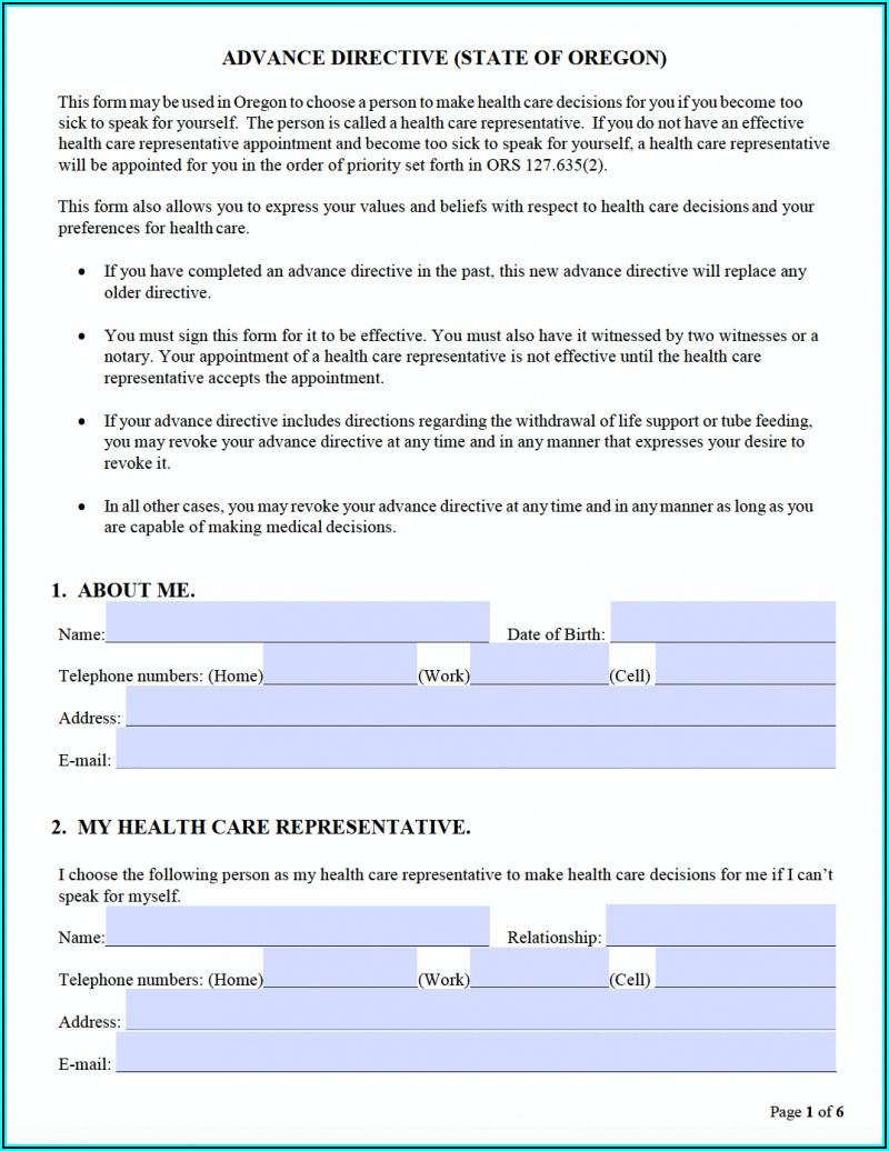 Where Can I Get A Free Medical Power Of Attorney Form