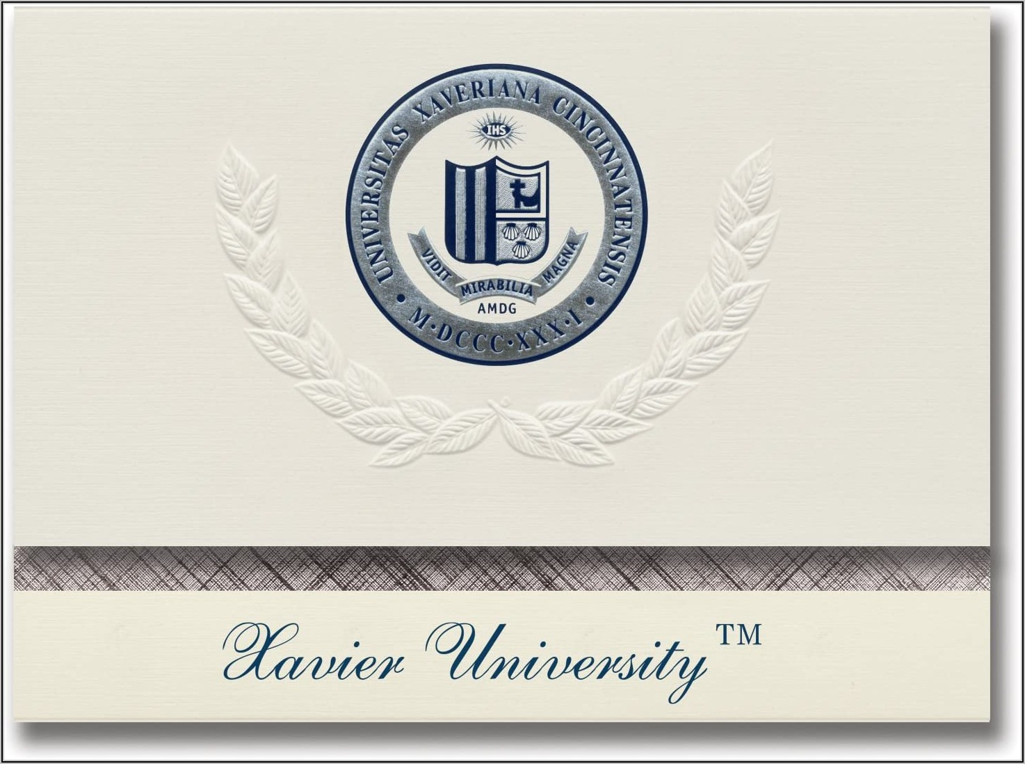 Xavier University Graduation Announcements