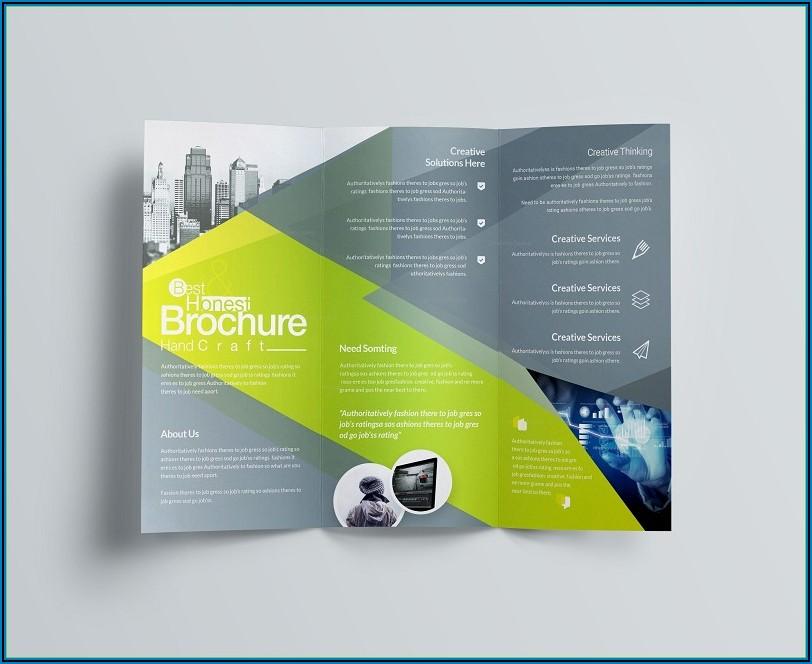 3 Fold Brochure Design Templates