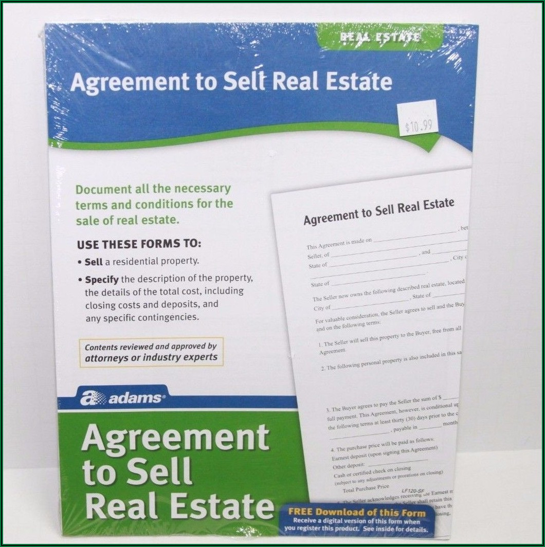 Agreement To Sell Real Estate Form