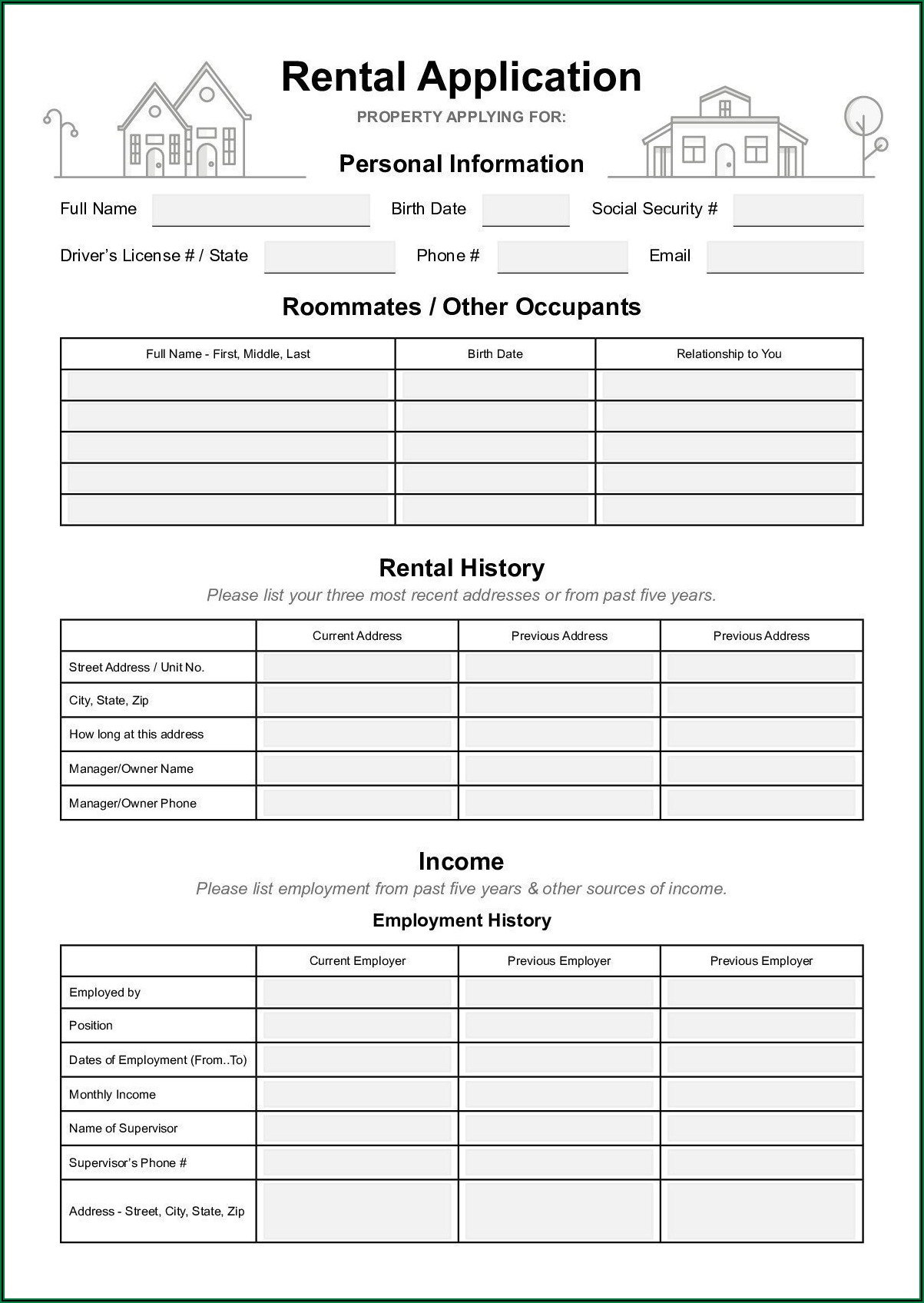 Arizona Real Estate Commission Forms