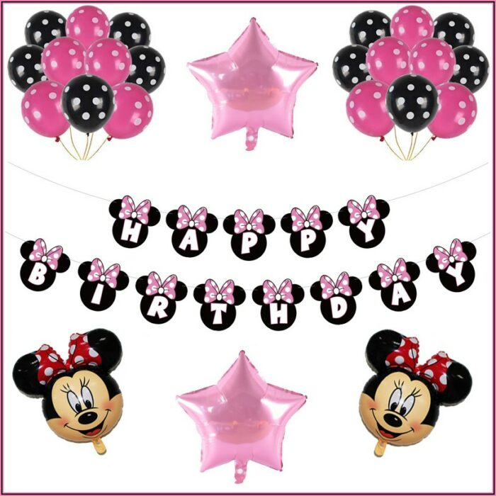 Baby Minnie Mouse 1st Birthday Party Supplies